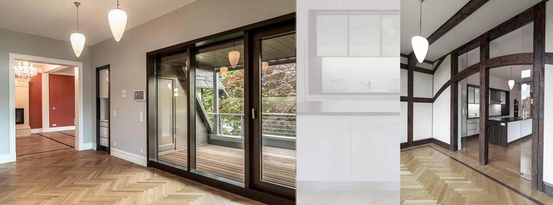 2012 2013 umbau und sanierung dachgeschosswohnung villa for Innenarchitektur erfurt